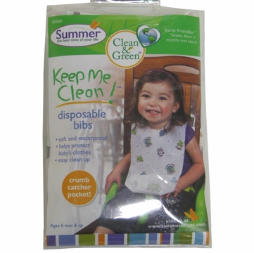 Summer Infant Keep Me Clean Disposable Bib (20 pk)