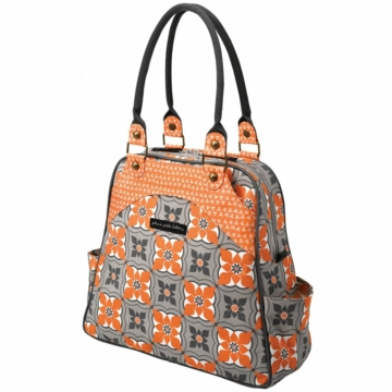 Petunia Pickle Bottom Sashay Satchel Playful Poppy
