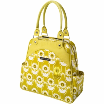 Petunia Pickle Bottom Sashay Satchel in Sunlit Stockholm