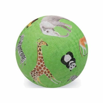 "Crocodile Creek 7"" Playball - Wild Animals"