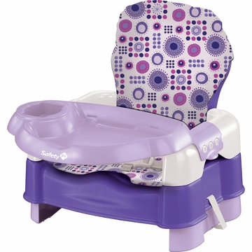 Safety 1st Deluxe Sit, Snack & Go Convertible Booster - Lavender with Full Pad