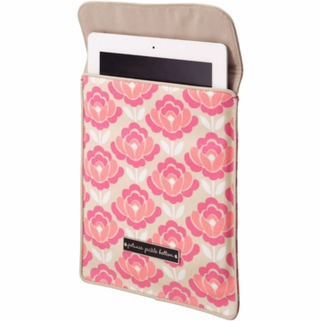 Petunia Pickle Bottom Stowaway iPad Sleeve in Flowering in Firenze