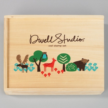 DwellStudio Owl Stamp Set