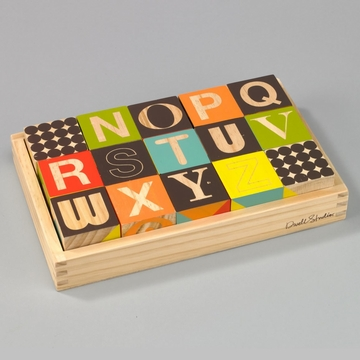 DwellStudio Puzzle Blocks