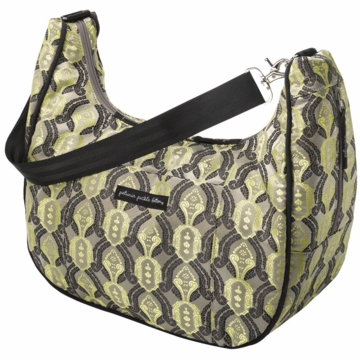 Petunia Pickle Bottom Touring Tote Citrine Roll
