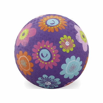 "Crocodile Creek 7"" Playball - Flowers"