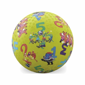 "Crocodile Creek 7"" Playball - 123"