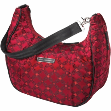 Petunia Pickle Bottom Touring Tote in Spiced Crimson Roll