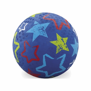 "Crocodile Creek 7"" Playball - Blue Stars"