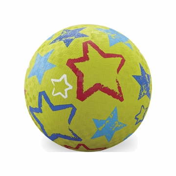 "Crocodile Creek 7"" Playball - Green Stars"