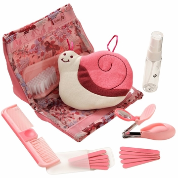 Safety 1st Complete 18pc Grooming Kit - Blossom Pink