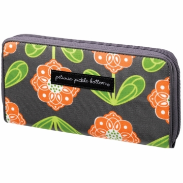 Petunia Pickle Bottom Wanderlust Wallet Santiago Sunset