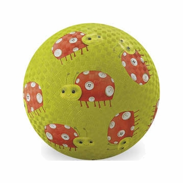 "Crocodile Creek 5"" Playball - Ladybugs"