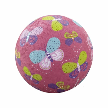 "Crocodile Creek 5"" Playball - Pink Butterflies"