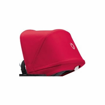Bugaboo Donkey Sun Canopy - Coral Red