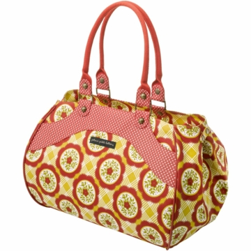 Petunia Pickle Bottom Wistful Weekender in Marigold Medallions
