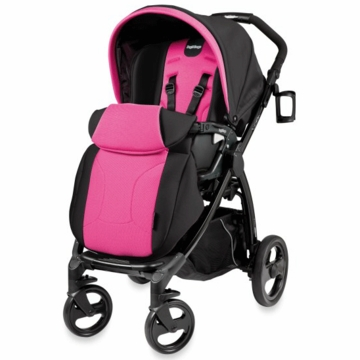 Peg Perego Book Plus Stroller in Fuschia