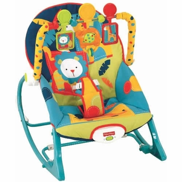 Fisher-Price Infant To Toddler Rocker - Dark Safari