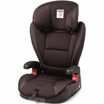 Peg Perego HBB 120 High Back Booster Car Seat in Cacao