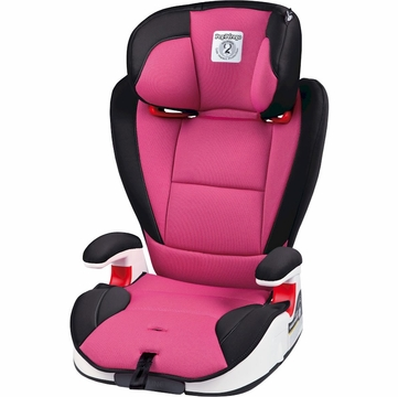 Peg Perego HBB 120 High Back Booster Car Seat in Fuschia