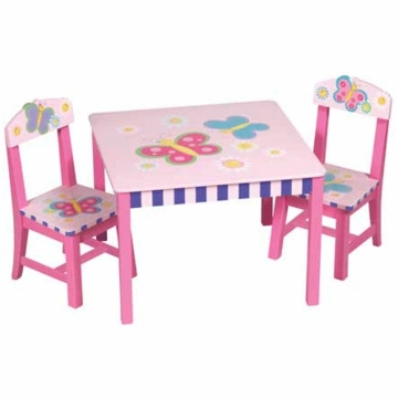 Guidecraft Butterfly Table & Chair Set