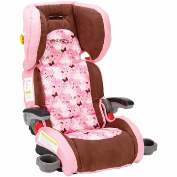 The First Years Compass Booster Seat in Pink Butterfly