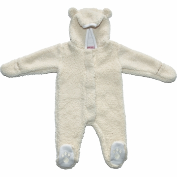 Magnificent Baby Cream Bear Footie - 3 to 6 Months