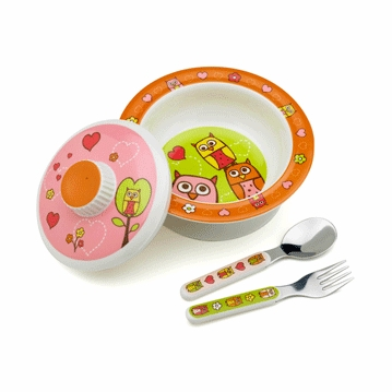 Sugar Booger Hoot! Feeding Collection Set