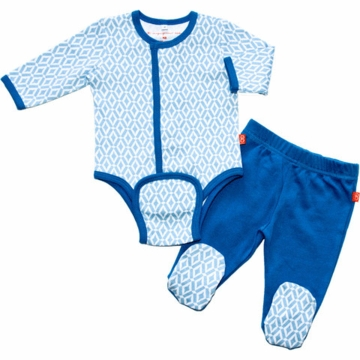 Magnificent Baby Boy's El Marrakesh Burrito Pant Set - Newborn to 3 Months