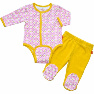 Magnificent Baby Girl's El Marrakesh Burrito Pant Set - Newborn to 3 Months
