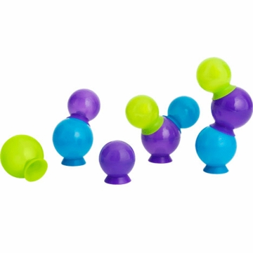 Boon BUBBLES Suction Cup Bath Toys - Multicolor Blue