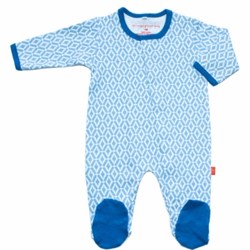 Magnificent Baby Boy's El Marrakesh Footie - Newborn to 3 Months