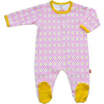Magnificent Baby Girl's El Marrakesh Footie - Newborn to 3 Months