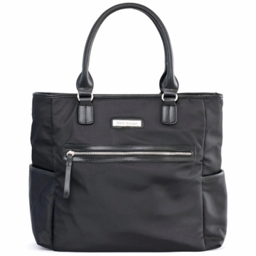 Perry Mackin Oliver Diaper Bag in Black