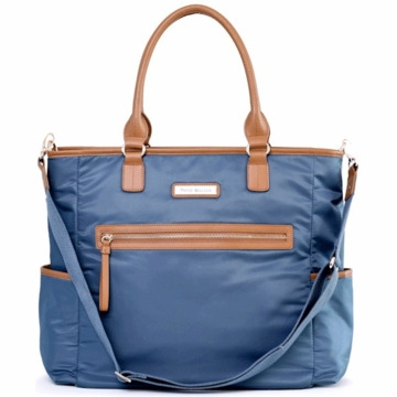 Perry Mackin Oliver Diaper Bag in Blue