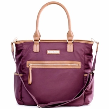 Perry Mackin Oliver Diaper Bag in Purple