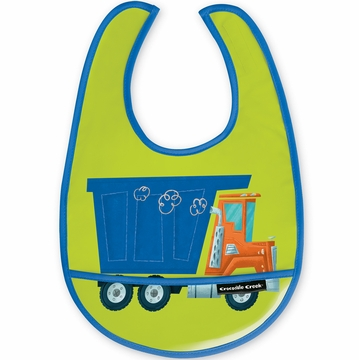 Crocodile Creek Bib - Dump Truck