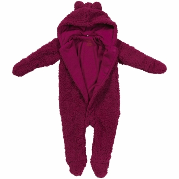 Magnificent Baby Raspberry Bear Footie - Newborn to 3 Months