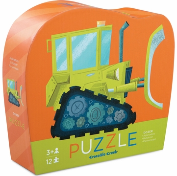 Crocodile Creek Mini Shaped Box Puzzle - Dozer
