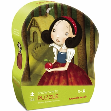 Crocodile Creek Mini Shaped Box Puzzle - Snow White