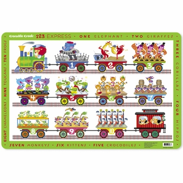 Crocodile Creek Placemat - 123 Express