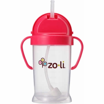 ZoLi BOT XL 9 oz. Straw Sippy Cup - Pink