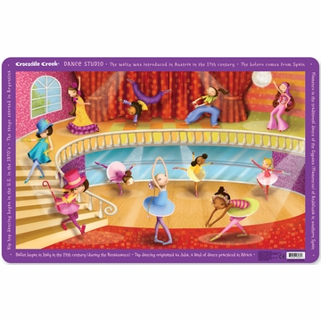 Crocodile Creek Placemat - Dance Studio