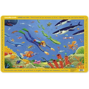 Crocodile Creek Placemat - Under the Sea