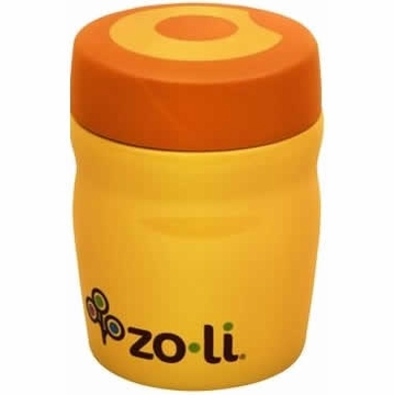 ZoLi Baby DINE 12 oz. Vacuum Insulated Food Jar - Orange