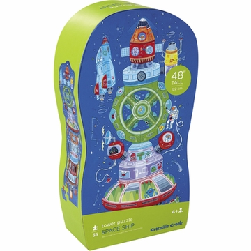 Crocodile Creek Tower Puzzle - Spaceship