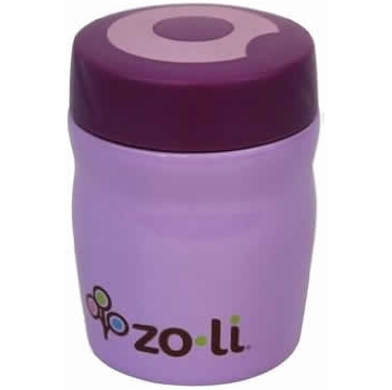 ZoLi Baby DINE 12 oz. Vacuum Insulated Food Jar - Purple