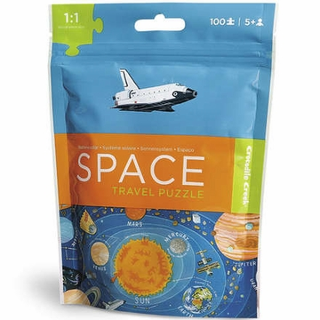 Crocodile Creek Travel Pouch Puzzle - Space