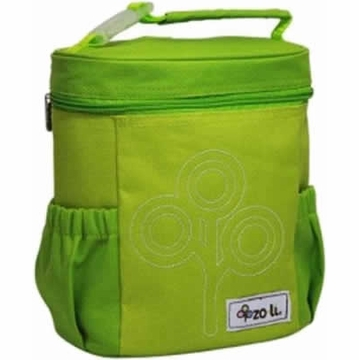 ZoLi NOMNOM Nylon Lunch Bag - Green