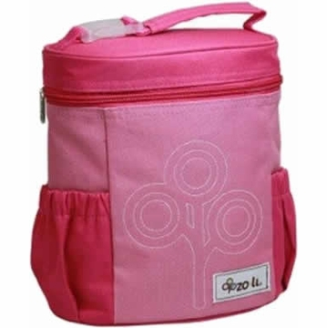 ZoLi NOMNOM Nylon Lunch Bag - Pink